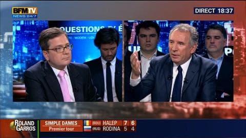 """François Bayrou face à Fabrice Lundy dans BFM Politique: """"Les décisions d'Etat devraient relever de la transparence et de l'opacité"""""""