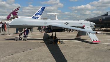 Un drone Predator au Salon du Bourget.