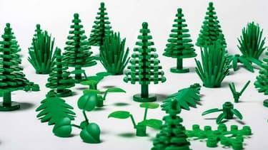 Courant 2018, des buissons, feuilles ou arbres Lego seront fabriqués en polyéthylène végétal, tiré de la canne à sucre.