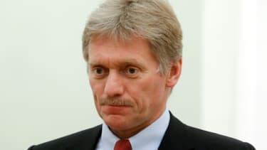 Le porte-parole du Kremlin Dmitry Peskov le 24 mai 2017 à Moscou -