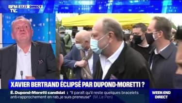 Régionales: Dupond-Moretti défie Le Pen dans le Nord - 08/05