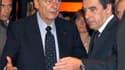 Jacques Chirac et François Fillon, en 2011.