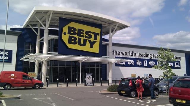 Best Buy compte plus de 1000 grands magasins.
