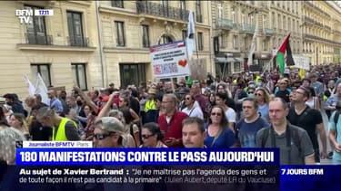 Manifestation anti-pass sanitaire: à Paris, le cortège est en train de se disperser