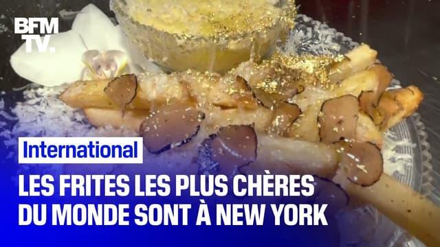 Les frites les plus chères du monde se trouvent à New York