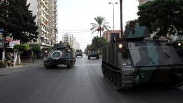 Dans le quartier de Bab al Tabbaneh à Tripoli, dans le nord du Liban, où des affrontements ont opposé sunnites et alaouites. L'armée libanaise prévient qu'elle sera intraitable sur la sécurité, au lendemain des obsèques à Beyrouth de Wissam al Hassan, qui