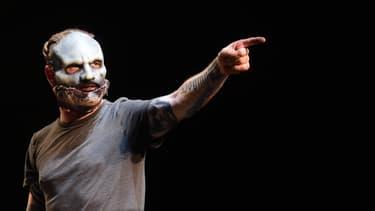 Corey Taylor de Slipknot, sur scène à Los Angeles en 2016