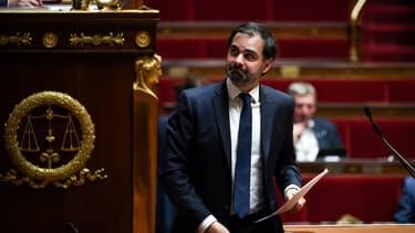 Le député LaREM du Val-de-Marne Laurent Saint-Martin, le 10 juin 2020 à l'Assemblée