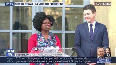 Sibeth Ndiaye, la voix du président