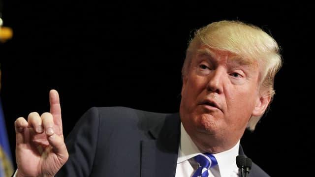 Donald Trump, le candidat aux primaires républicaines aux Etats-Unis.