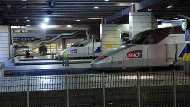 Le trafic est interrompu à Montparnasse.