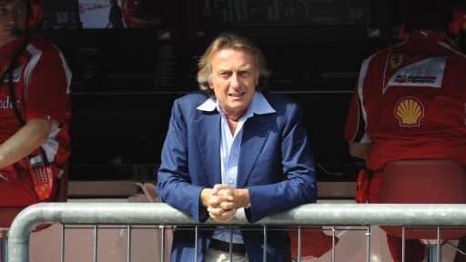 Luca di Montezemolo pourrait faire rentrer la scuderia définitivement dans les stands.