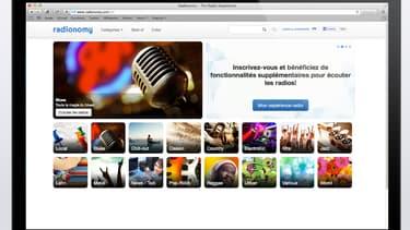 Ce site permet de créer des radios sur mesure en puisant dans un catalogue de chansons