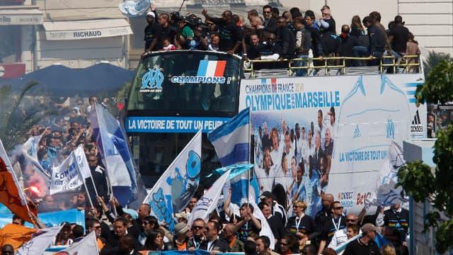 Les Marseillais ont fêté leurs héros.