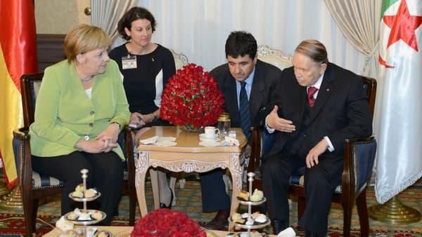 Angela Merkel et Abdelaziz Bouteflika le 17 septembre 2018.