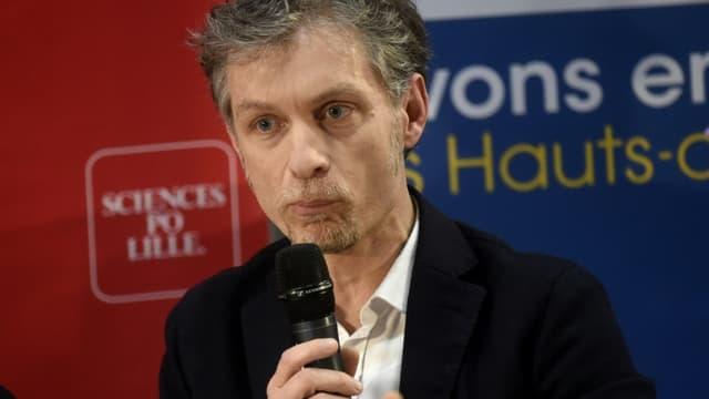 Le candidat tête de liste écologiste à Lille, Stéphane Baly, le 25 février 2020 à Lille