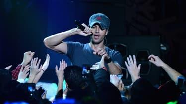 Enrique Iglesias en concert, le 13 décembre 2013