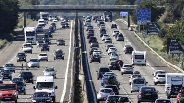 La circulation va être très encombrée, ce samedi, dans la région Auvergne-Rhône-Alpes (PHOTO D'ILLUSTRATION)