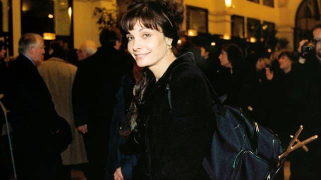 Marie Trintignant en janvier 2000