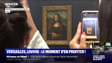 C'est les vacances : Versailles, Louvre... le moment d'en profiter ! - 15/08