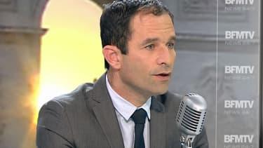 Benoît Hamon est l'invité de Jean-Jacques Bourdin.