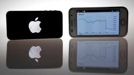 Apple et Samsung lutte pour la première place