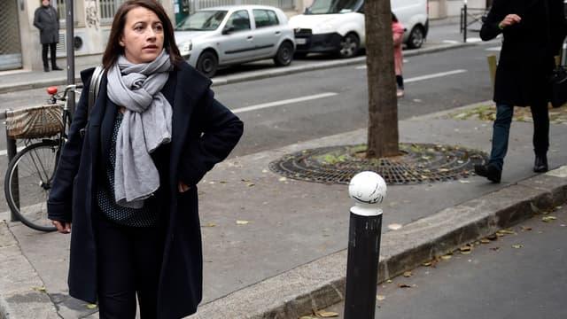Cécile Duflot le 7 janvier 2015 à Paris.