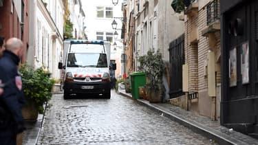Une ambulance photographiée dans les rues de Paris le 30 janiver 2017 (image d'illustration)