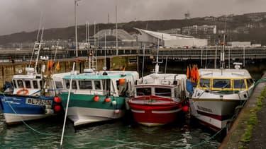Les pêcheurs entendent bloquer le port de Boulogne-sur-mer.