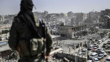Raqqa, en octobre 2017 (photo d'illustration)