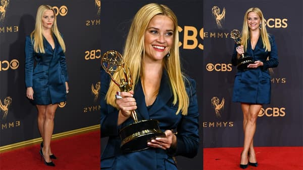 L'actrice Reese Witherspoon aux Emmy Awards, le 18 septembre 2017.