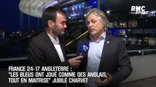 """France 24-17 Angleterre: """"Les Bleus ont joué comme des Anglais, tout en maîtrise"""" jubile Charvet"""