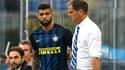 Gabriel Barbosa et Frank de Boer à l'Inter