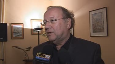 Jean-Pierre Bechter, maire UMP de Corbeil-Essonnes, le soir du premier tour de la municipale 2010. L'élu a été placé en garde à vue mercredi.
