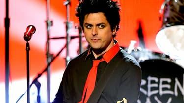 Le leader de Green Day dimanche sur la scène des American Music Awards