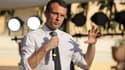 Emmanuel Macron devant 300 étudiants en Inde