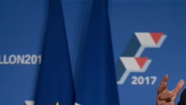 François Fillon, le 22 novembre 2016.