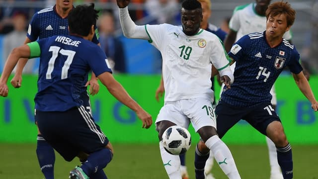Mbaye Niang contre le Japon