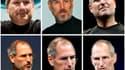 Au fil des années, la santé de Steve Jobs, malade d'un cancer du pancréas, s'était dégradée. Ici de 2000 à 2009.