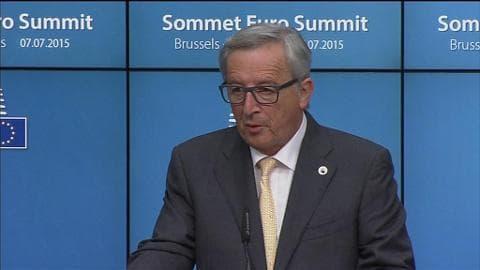 """Grexit: Juncker ne pourra pas """"l'empêcher"""" si le gouvernement grec ne fait pas de réformes"""