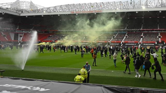 Incidents à Old Trafford