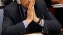 Le ministre français des Affaires étrangères Alain Juppé, au Conseil de sécurité des Nations Unies, à New York. Première à envoyer ses avions dans le ciel libyen, la France affirme agir dans les strictes limites de la résolution des Nations unies visant à