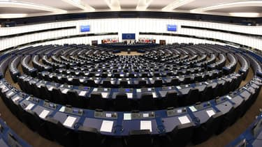 Une vue du Parlement européen à Strasbourg, le 5 février 2018. (Photo d'illustration)