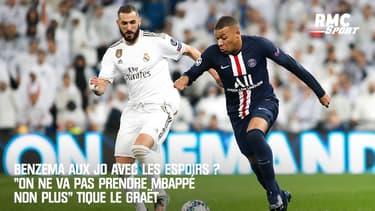 """Benzema aux JO avec les Espoirs ? """"On ne va pas prendre Mbappé non plus"""" s'étonne Le Graët"""