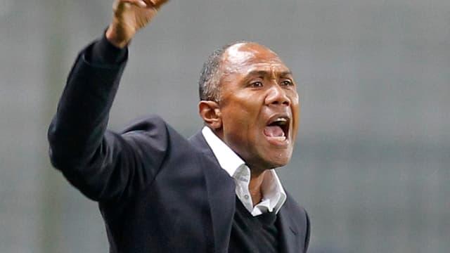 Antoine Kombouaré, entraîneur de Lens