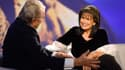 Anne Sinclair, face à Ruggero Raimondi, dans son émission Fauteuil d'orchestre, diffusée sur France 3 le 11 décembre.