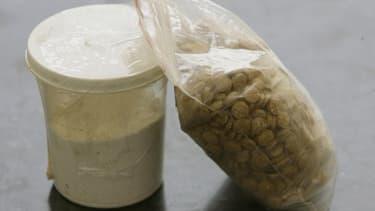 Des pilules de captagon saisies à Beyrouth au Liban, le 11 juin 2010 (image d'illustration)