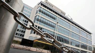 La DGSI (ici son siège à Levallois-Perret) est l'un des services de renseignement français.