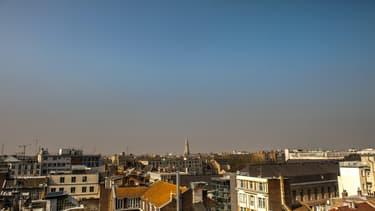 Un épisode de pollution à Lille.