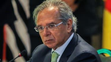 Le ministre brésilien de l'économie, Paolo Guedes